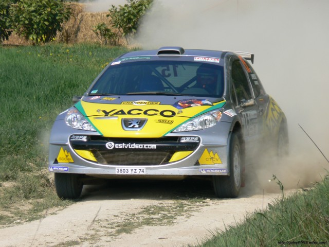 Championnat de France des Rallyes Terre d`Auxerrois (Dépt 89) Equipage J.Pressac