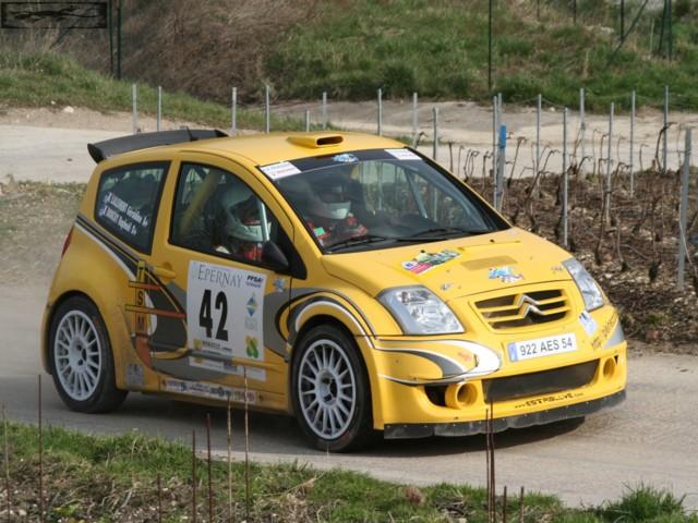 Rallye Epernay 30-03-2008